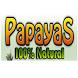 Papayas 100% Natural
