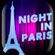 Night in Paris Live Wallpaper by Cuteness Inc.