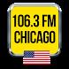 106.3 FM Radio Chicago by anaco