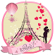 Paris Eiffel Tower Love Theme by Work shop and studio