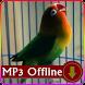 Suara Burung Lovebird Offline Terapi Macet Bunyi by kicaumania suara burung