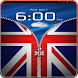 UK Flag Zipper Lock Free by Crunchyapps Inc