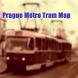 Prague Metro Tram Map by Clickingapps