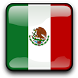 Mexico Flag Clock Widget