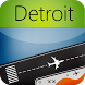 Detroit Airport+Flight Tracker by Webport.com