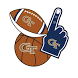 Georgia Tech Yellow Jackets Selfie Stickers by 2Thumbz, Inc