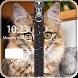 Kitty Zipper Screen Lock by Redix Apps Studio