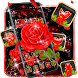 Raindrops Red Roses Theme