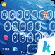 Keyboard - Sea World New Theme by Kika Theme Lab