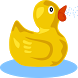 Rubber Ducky by Cool Springs LLC