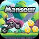 لعبة منصور:Mansour motorbikes crazy adventures by TheBestAppsEver