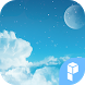 MoonInTheSky WidgetPack theme by SK techx for themes