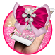 Diamond Pink Bow Theme by Cool Theme Love