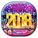 New Year 2018 Keyboard Theme by Super Cool Keyboard Theme