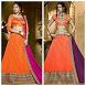 New Bridal Lehenga Choli Design 2017 by radhedevelopers