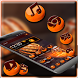 Orange Black Theme by Hot Launcher