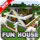New Fun House Map for Minecraft PE