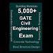 GATE Civil Engineering Test by Thangadurai R