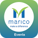 Marico Events App by Black Bean Engagement