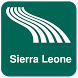 Sierra Leone Map offline by iniCall.com