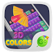 3D Colors GO Keyboard Theme
