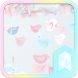 Pastel Birds Launcher theme by SK techx for themes