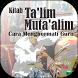 Kitab Ta'lim Muta'alim by Az Zikr Studio