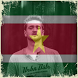 Suriname Flag On Face Maker : Photo Editor by Deluxe Company