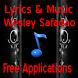 Lyrics Music Wesley Safadao by Arifzaenal