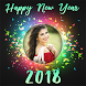 New Year Photo Frames 2018 by Perfect Looks Apps