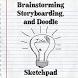 Brainstorm & Doodle Sketchpad by Buck Baskin