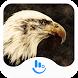 Eagle Flying High Keyboard Theme by Fashion Cute Emoji
