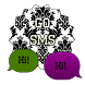 GO SMS - Damask 8 by SCSCreations