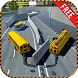 Double School Bus Driving Game-Kids School Time 3D