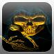 Skeleton Skull Fire Flames LWP by Evil Dark Demons