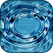 Animated water background by Volnex Mobile