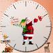 Christmas Santa clock widget by WING MING