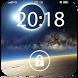 Screen Lock Air Space by fiber