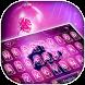 Beauty and the Rose Theme&Emoji Keyboard by Cool Keyboard Theme Design