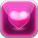 Pink Hearts Live Wallpapers HD by Lollipop Studio - Premium Games and Applications