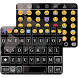 Business Black Emoji Keyboard Theme by Themes Dev Team
