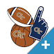 Georgia Tech Yellow Jackets PLUS Selfie Stickers by 2Thumbz, Inc
