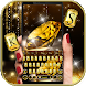 Diamond Gold Keyboard Theme