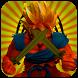 Goku Saiyan Super Dragon Fight by cooltools
