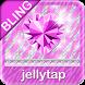 Purple ♦BLING♦ Theme Zebra SMS by Jellytap