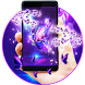 Papillion purple fay theme by Free new hot colorful themes