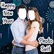 New Year Couple Photo Suit 2018 by Perfect Looks Apps