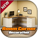 Room corner decoration by AlphabetStudio