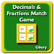 Math Decimals & Fractions Game by Gbury Apps