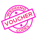 Wedding Voucher Codes by Acrid by Design
